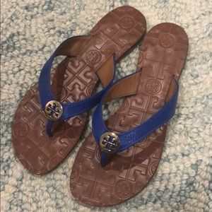 Tory Burch Thora Tumbled Leather - size 6